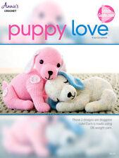 Puppy Love 2 Adorable Crochet Patterns Create Sleepy or Wide Awake Puppy Dog Set