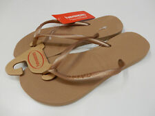 Havaianas Womens Slim Rose Gold Size 9/10