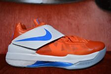 detailed look 31b87 cee6d Nike Zoom KEVIN DURANT KD IV 4 CREAMSICLE ORANGE WHITE 473679 800 Size 10  EYBL