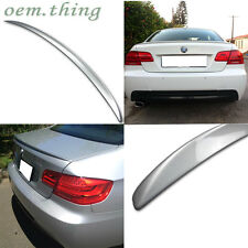 Painted For BMW 3-Series E92 2D Coupe M3 REAR TRUNK SPOILER WING ABS 330i 07-13