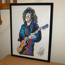 Gary Moore, Singer, Guitarist, Blues Guitar, Jazz Fusion, 18X24 POSTER w/COA 3