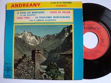 ANDREANY le roi de la tyrolienne : Le patre des montagnes EP French TRIANON 4454