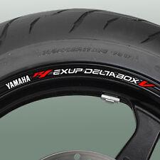 YZF R1 exup deltabox V Wheel rim stickers decals 1000