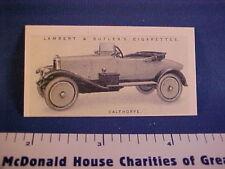 CALTHORPE 10-12hp collectible Butler & Lambert card