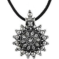 Flower Style! 925 Sterling Silver Pendant