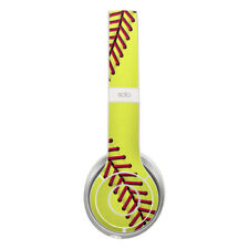 Skin for Beats by Dre Solo 2 - Softball by Sports - Sticker Decal