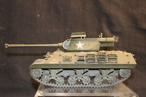 U.S.A. M36 GUN MOTOR CHALLENGE TANK 1/35 SCALE ASSEMBLED AND PAINTED MODEL
