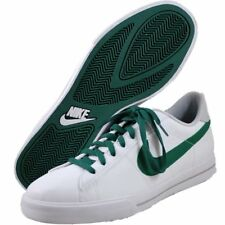 NEW Nike Mens Sweet Classic Leather fashion sneakers wHITE/GREEN 318333 193