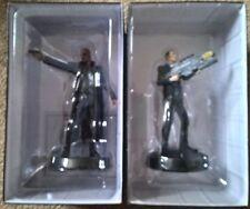 Colección Marvel Fact Files película Nick Fury y agente soy Sam Coulson Estatuilla Figura