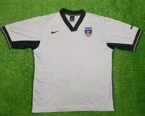 Vintage Colo Colo FC Soccer Nike Jersey Chile Size M Away Camiseta Shirt