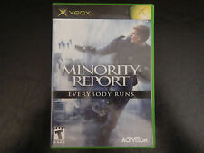 Minority Report Everybody Runs (xbox, 2002)