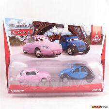 Disney Pixar World of Cars 2014 Nancy & John Paris Tour collection #1 #2 of 7