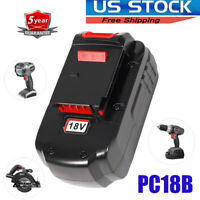 NEW FOR PORTER-CABLE PC18B 18Volt NI-CD BATTERY PACK 18V PCC489N PCMVC PCXMVC US