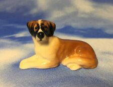 Htf Vintage Miniature Royal Doulton St Saint Bernard Dog Figurine K19 New