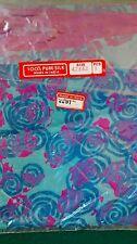 90s silk INDIA TRIBAL scarf shocking pink ethnic handmade vintage grunge BOHO