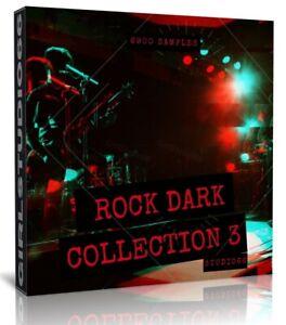 Rock Samples Pack 3 WAV Drums Loops Guitars FL Studio, Cubase Logic Pro Ableton