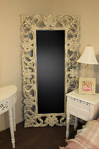 Full Length Mirror Floor Standing Mirror Shabby Chic Style Distressed Tall New