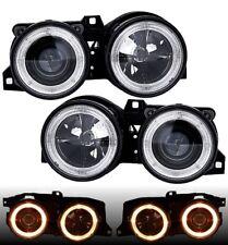 Angel Eyes Scheinwerfer DE BMW E30 schwarz Fadenkreuz links rechts