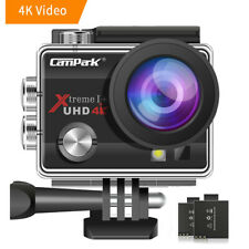 4K Action Camera Campark 16MP WiFi Sports Cam Underwater 30M DVR Camcorders 170°