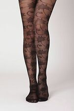 NIP Anthropologie Vined Sheer Floral Tights XS/S Sold Out Rare by Tintoretta