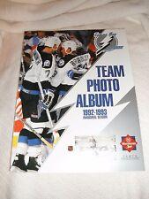 Tampa Bay Lightning First Year  (92-93) Team Photo Album Cards -