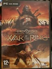 The Lord Of The Rings WAR OF THE RING Pc Cd Rom Original LOTR Release FAST POST