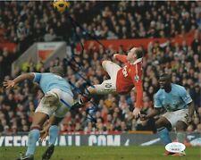 Manchester United Wayne Rooney Autographed Signed 8x10 Photo JSA COA #2