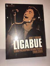 """LIGABUE """"NOME E COGNOME"""" 5 DVD BOX SET TOUR 2006 - SIGILLATO"""