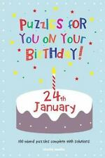Puzzles for You on Your Birthday - 24th January by Clarity Media (2014,...
