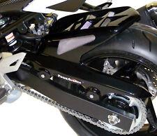 SUZUKI GSR750 11-16 / GSX-S750 15-16 Black-Silver Mesh Hugger - Powerbronze