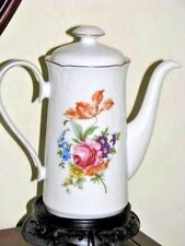 1970s Graf Von Kenneberg  JLMENAU Porcelain Tea Pot German Democratic Republic