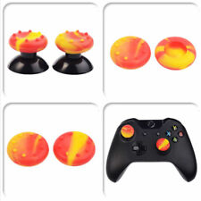 20 Pcs Yellow Red Thumbsticks Grips for Xbox One Elite S PS3 PS4 WII Controller