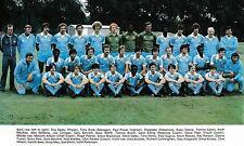 MANCHESTER CITY FOOTBALL TEAM PHOTO>1980-81 SEASON