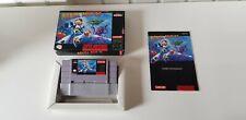 Megaman X Super Nintendo Us Good Condition In Box