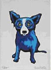 """Blue Dog George Rodrigue    """"Signature Dog""""      MAKE  OFFER    DSS"""