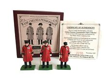 William Britains Chelsea Pensioners Toy Soldiers Limited Edition Collectors Club