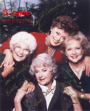 THE GOLDEN GIRLS White Arthur Getty Cast Signed Autographed Reprint 8x10 Photo