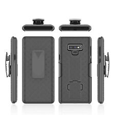 For Samsung Galaxy Note 9 Holster Case Cover Belt Clip Stand Slim Black