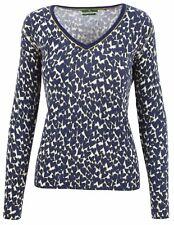 PUBLIC Damen Pullover Women Sweater Größe 38 M V-Ausschnitt Merinowolle Angora