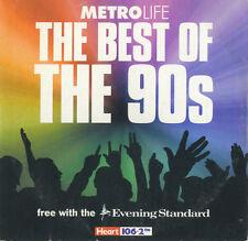 BEST OF THE 90S: METROLIFE PROMO CD (2003) ASH, EMF, SHAMEN, VANILLA ICE, SNAP