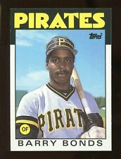 1986 Topps Traded BARRY BONDS Rookie #11T Baseball Card High Grade