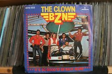 """7"""" Single BZN - The Clown / It's So Good To Be Back Home"""