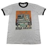 Ryan Adams punk rock guitar biker concert tour Music Retro >C102 T-Shirt M L XL