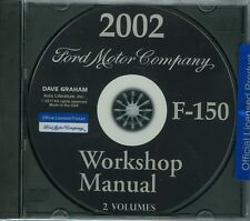 2002  FORD TRUCK SHOP  MANUAL ON CD-F-150