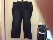 """INC JEANS BUTTON POCKETS FRONT & BACK 20W  30"""" INSEAM"""