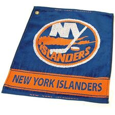 "NEW YORK ISLANDERS  16"" X 19"" Jacquard Woven Team Golf Towel  NHL Licensed"