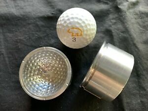 Vintage Golf Ball Mold Worthington/Hogan Factory with Nicklaus Golf Ball