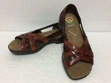 New Earth Spirit ~ Gelron 2000, Comfort Quality Leather Sandals,Multi Color Sz 6