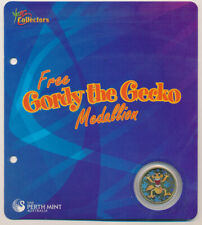 Australia 2008 Perth Mint Issued Gordy The Gecko Medal For Collector Coin Series