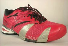 BABOLAT Tennis Sneakers Shoes Ortholite Red/Black Womens US 7.5 EU 38.5 $125